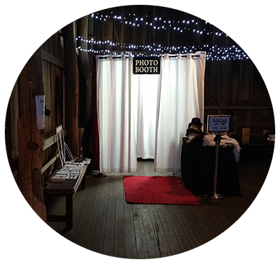 Enclosed Photo Booth for Birthday