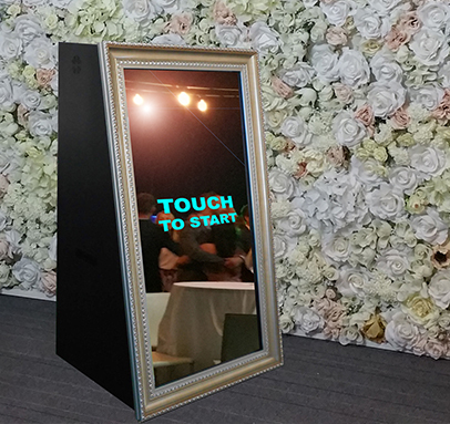 Mirror Photo Booths for Hire Perth WA