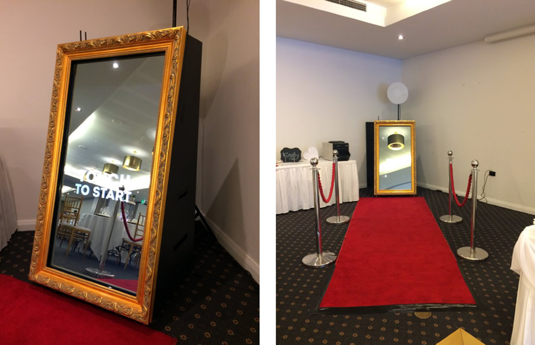 Mirror Photobooth for Hire Perth