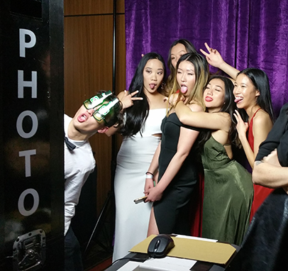 Open Photo Booth at a Ball