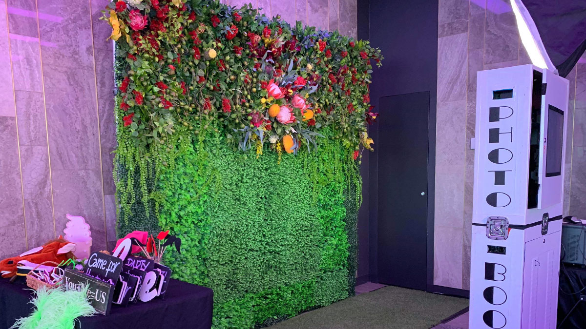 Australian Natives Flower Wall Perth