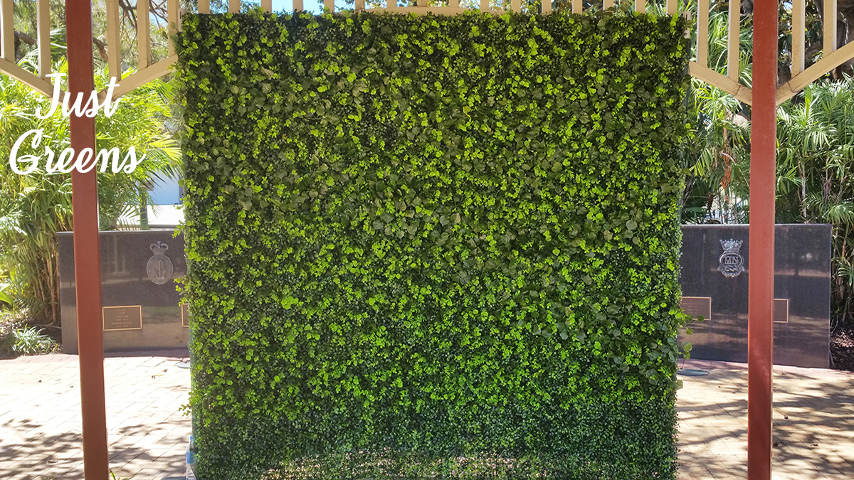 Just Green Flower Wall Photo Booth Perth