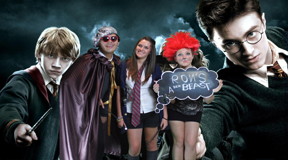 Aly's Harry Potter Themed Birthday Party