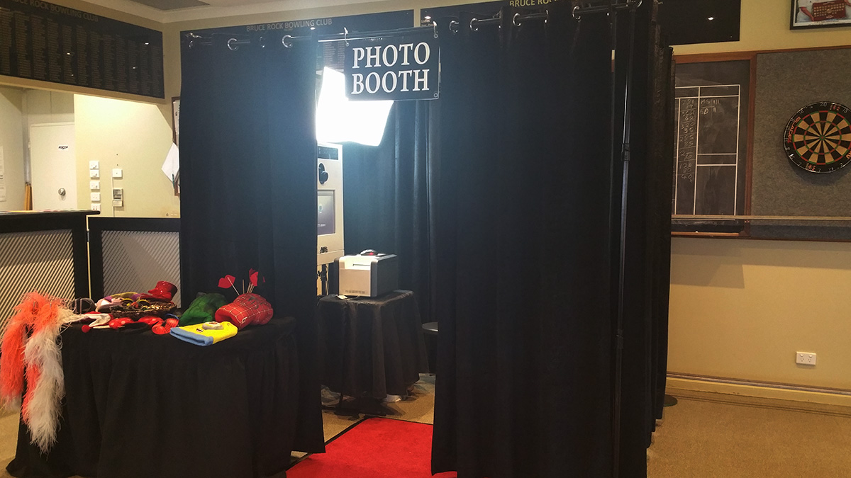 Enclosed Photo Booth for Perth Corporate Events