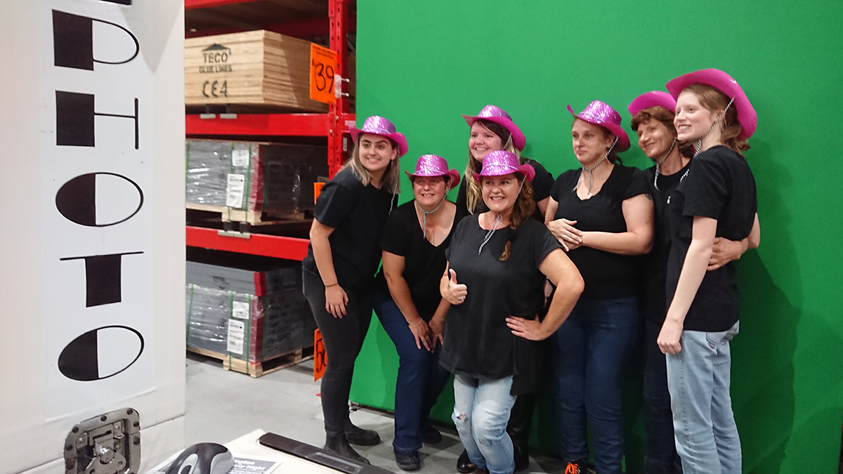 Green Screen Photo Booth for Perth Corporate Events