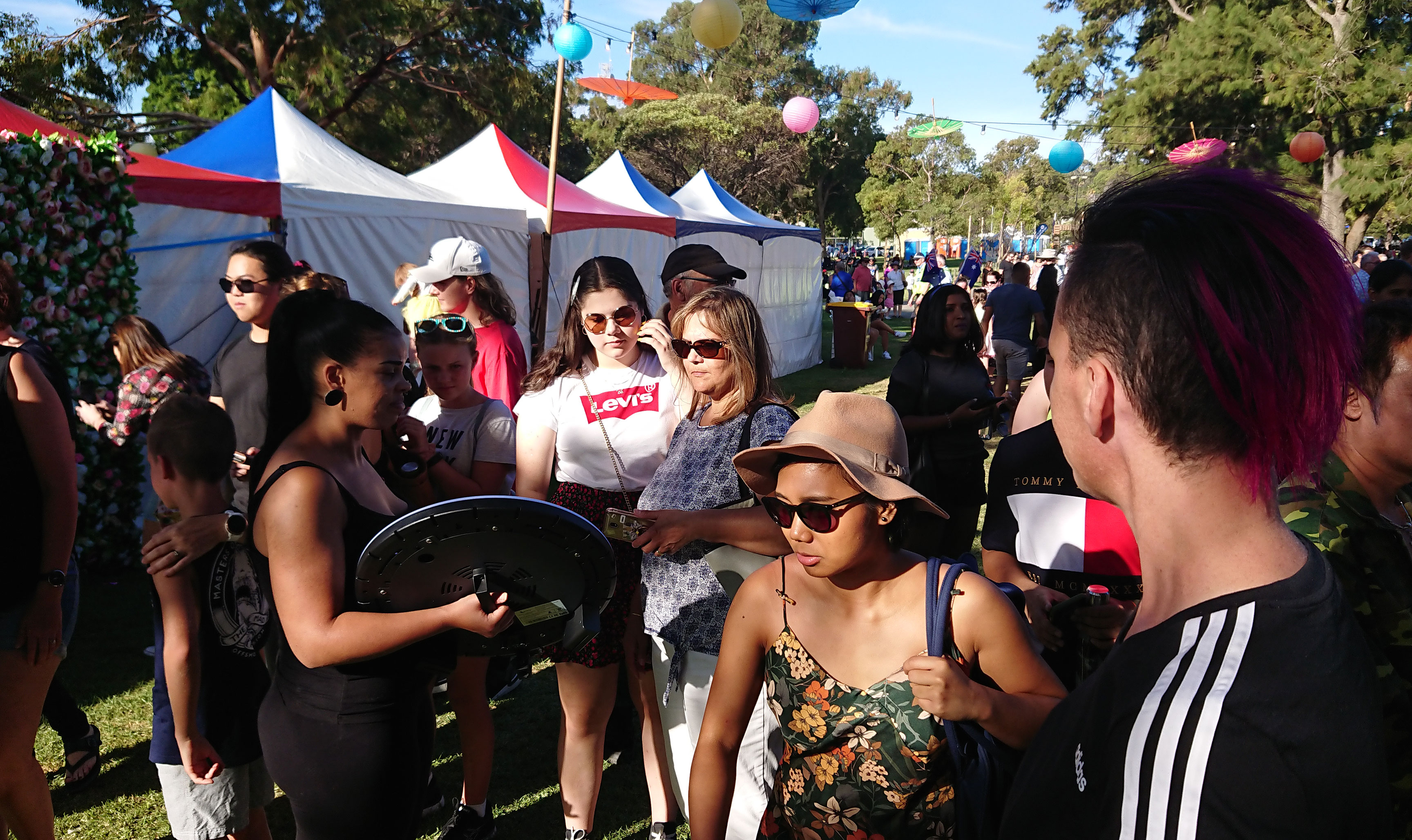 Roaming Photo Booth at Wanneroo Festival