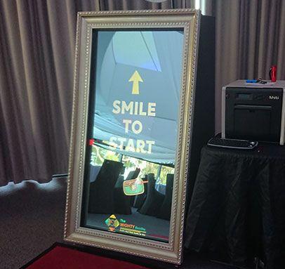 Silver Mirror Photo Booths for Hire Perth WA