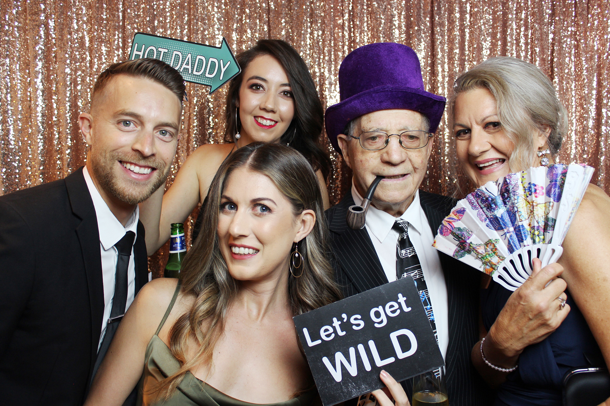 Photo Booth Service for Annual Ball Perth