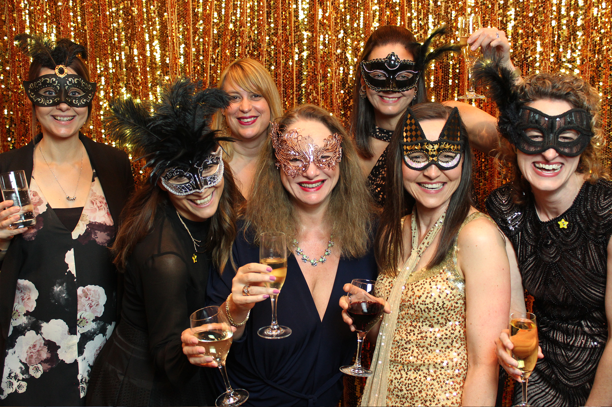 Photo Booth for Masquerade Ball Perth