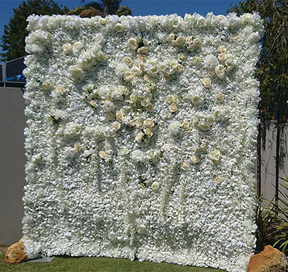 Flower Wall Hire Perth