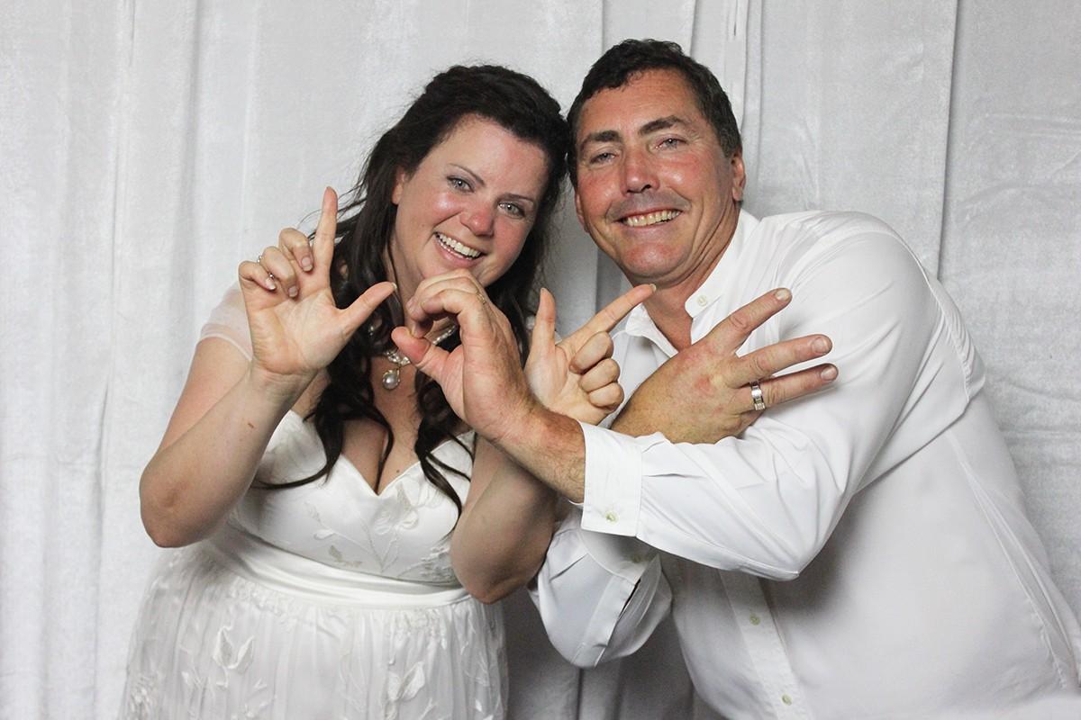 Wedding Photo Booth | Aaron & Sylvana + Alyssa and Michael