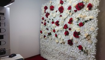 Flower Wall Photo Booths